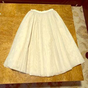 Elizabeth and James tulle skirt